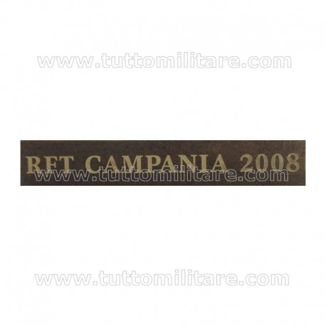 Fascetta Rifiuti Campania 2008