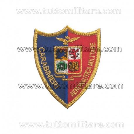 Scudetto Ricamato Carabinieri Aeronautica Militare