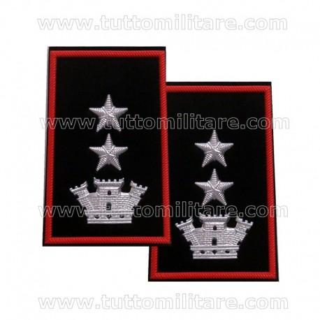 Tubolari Tenente Colonnello Carabinieri