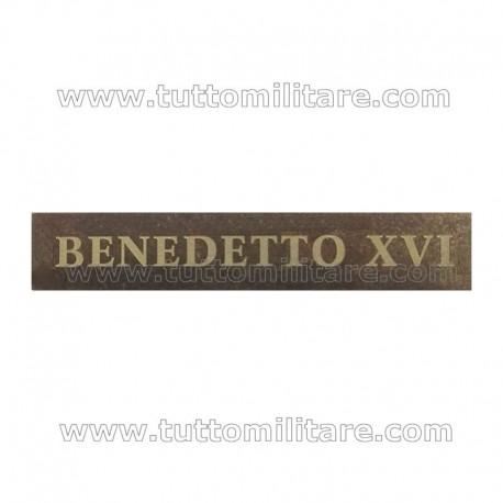 Fascetta BENEDETTO XVI