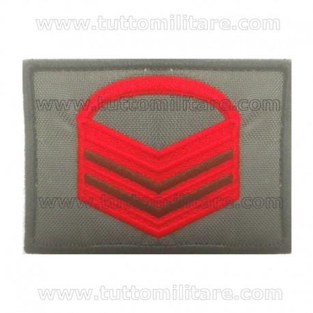 Grado Velcro Caporal Maggiore Capo Esercito