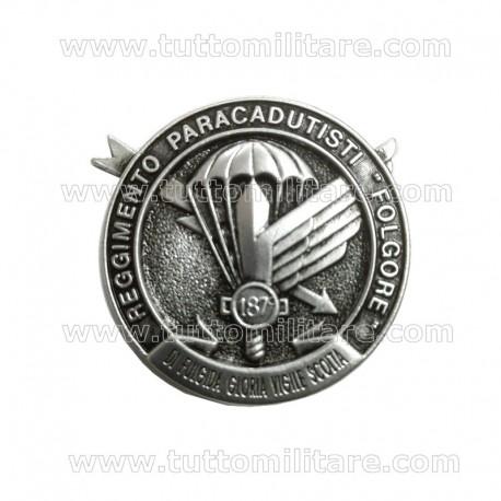 Distintivo 187° Reggimento Paracadutisti Folgore