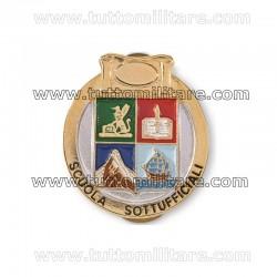 Distintivo Scuola Sottufficiali Dorato GdF