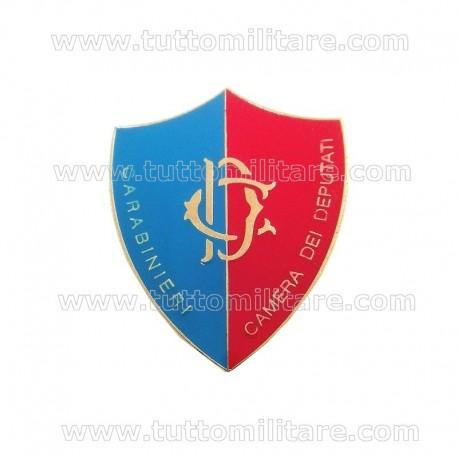 Distintivo Carabinieri Camera Deputati