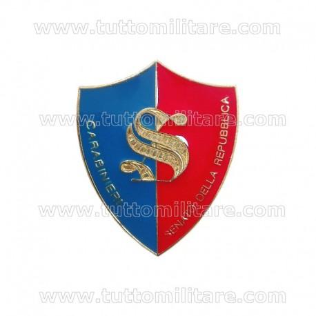 Distintivo Senato della Repubblica Carabinieri