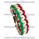 Braccialetto Paracord Tricolore Italia