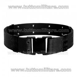 Cinturone Nero US Style in Nylon