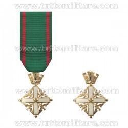 Croce Grande Cavaliere Ordine al Merito della Repubblica Vecchio Modello