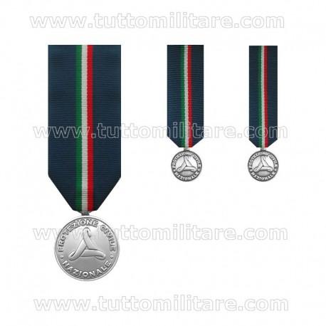 Medaglia Protezione Civile II Livello