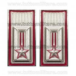 Alamari Metallo Luogotenente Carabinieri