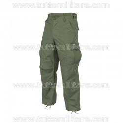 Pantaloni Combat Militari Verde Salvia