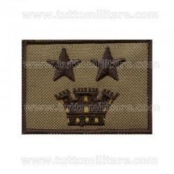 Grado Velcro Tenente Colonnello Esercito