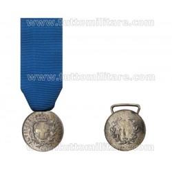 Medaglia Valore Militare Savoia Argentata