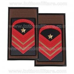 Tubolari Kaki Caporal Maggiore Capo Scelto Qualifica Speciale Esercito