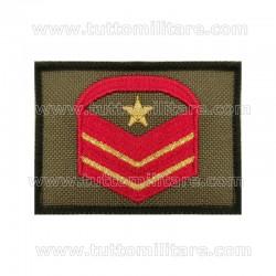 Grado Velcro Caporal Maggiore Capo Scelto Qualifica Speciale Esercito