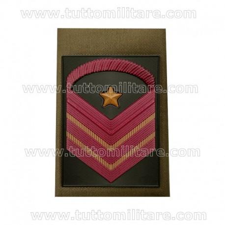 Tubolarino Caporal Maggiore Capo Scelto Qualifica Speciale Esercito