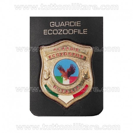 Placca Metallo Guardie Ecozoofile