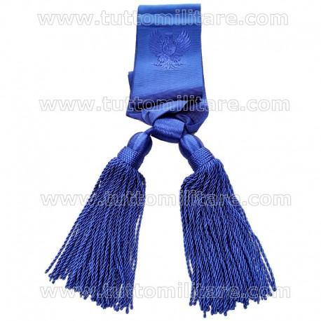 Sciarpa Azzurra Funzionario Polizia di Stato