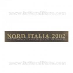 Fascetta Metallo NORD ITALIA 2002