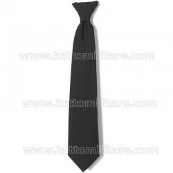 Cravatta Nera Polyestere