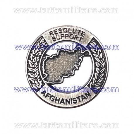 Distintivo Metallo Resolute Support Afghanistan
