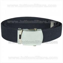 Cintura Blu Fibbia Neutra