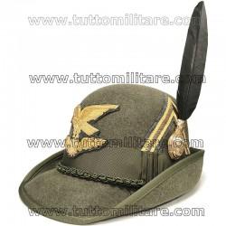 Cappello Alpino Maresciallo Battaglione Logistico