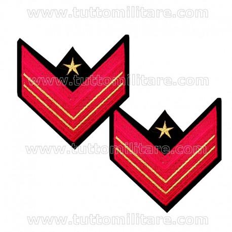 Gradi GUS Gala Appuntato Scelto Qualifica Speciale Carabinieri