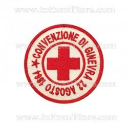 Scudetto Croce Rossa Convenzione di Ginevra