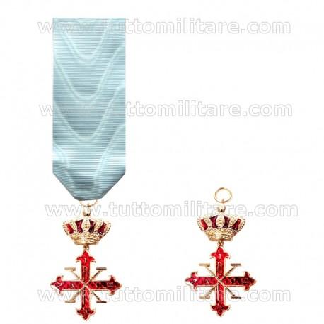 Croce Cavaliere II Classe Sacro Angelico Imperiale Ordine Costantiniano di San Giorgio