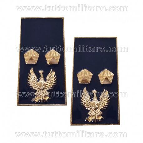 Gradi Metallo Ispettore Polizia di Stato