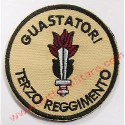 Scudetto Tondo Terzo Reggimento Genio Guastatori