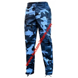 Pantaloni Mimetico Blue Sky
