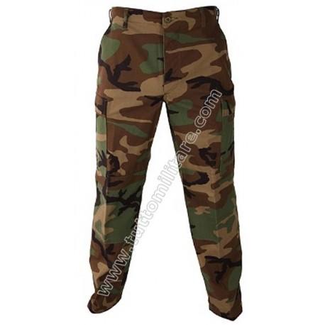 Pantaloni US Army Woodland Camo