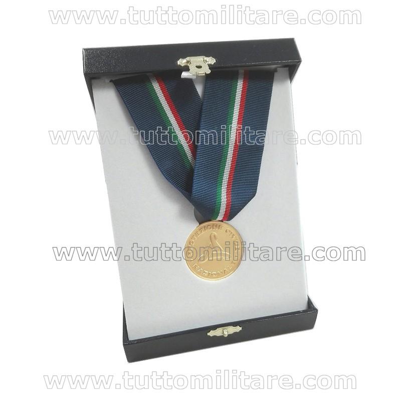 Medaglia per Labaro Protezione Civile